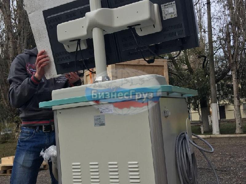 Разгрузка мед. оборудования в Новосибирске